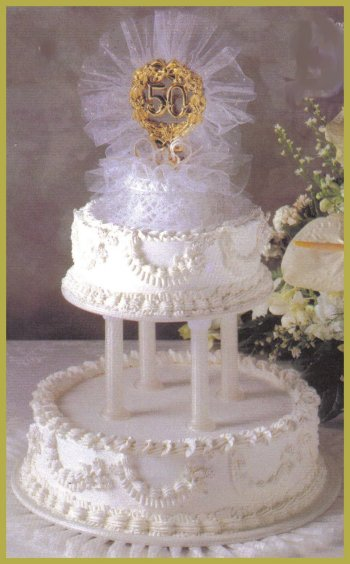 stacking wedding cakes without pillars winter design w 7 serves 156 20479